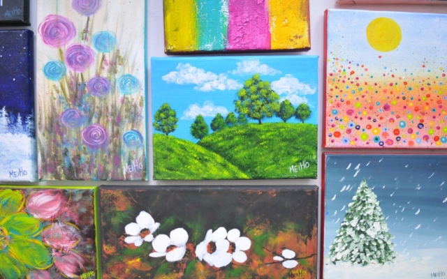 Art classes singapore - Wall of art