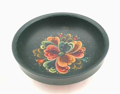 Rosemaling bowl