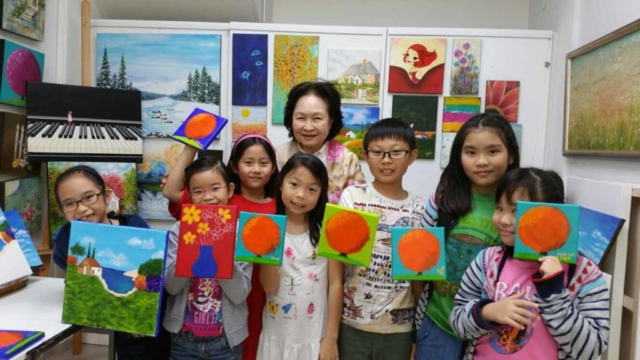 Kids Holiday Art Classes