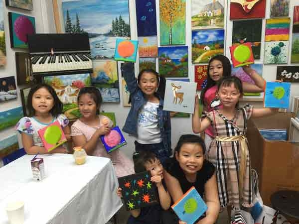 School Holiday Art Classes