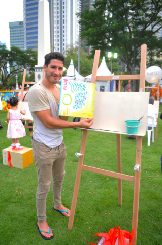 Art Jamming at Empress Place